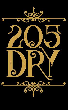 205 Dry Logo